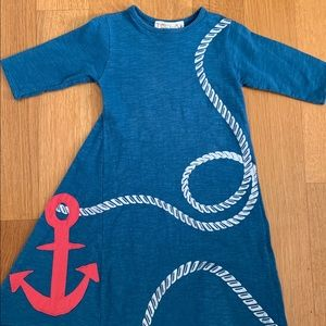 Teela Blue Girls Dress size 5